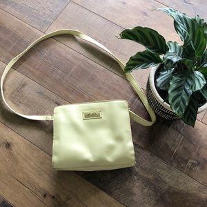 Yellow Marc Fisher crossbody small purse